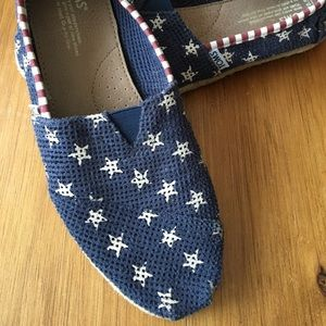 Star and Stripes Toms